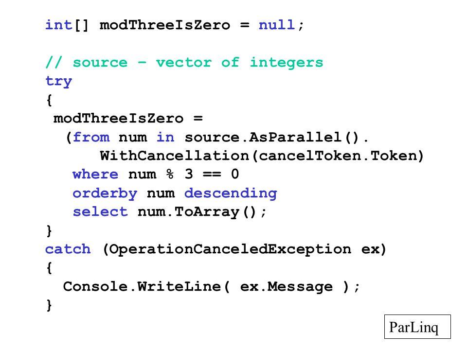 int[] modThreeIsZero = null;